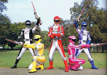 GoGo Sentai Boukenger/Power Rangers: Operation Overdrive
