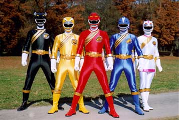 Hyakujuu Sentai Gaoranger/Power Rangers: Wild Force