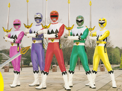 Seijuu Sentai Gingaman/Power Rangers: Lost Galaxy