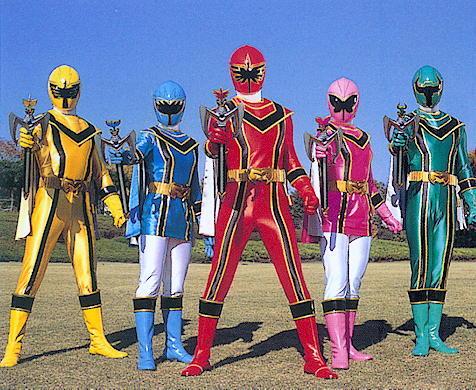 Mahou Sentai Magiranger/Power Rangers: Mystic Force