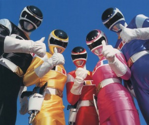 Denji Sentai Megaranger/Power Rangers in Space