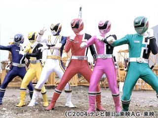 Tokusou Sentai Dekaranger/Power Rangers: SPD