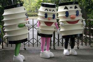 Odawara City's mascots