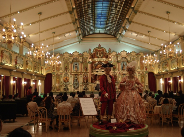 inside the room that is a giant music box