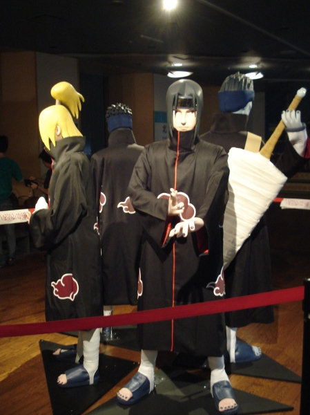 Itachi and some of Akatsuki