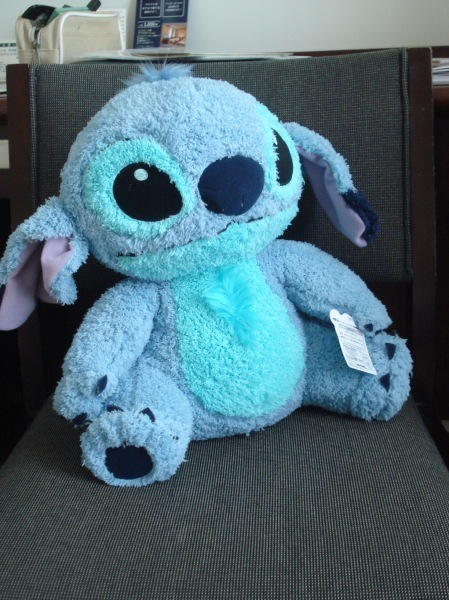 it's a fluffy Stitch