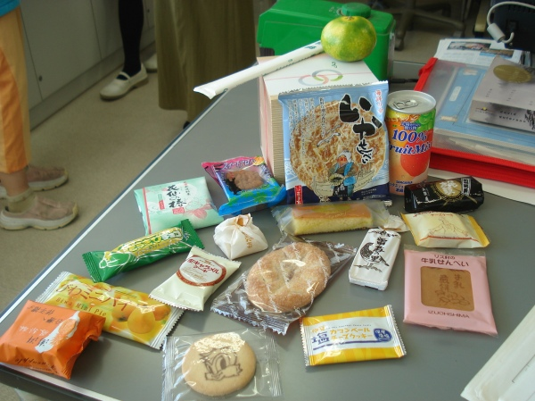 All the souvenirs from teachers' trips during summer vacation
