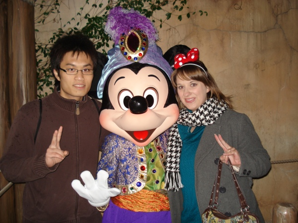 Jun, Mickey, and me