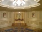 hallway leading to the elevators