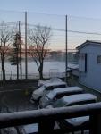 morning via my front door